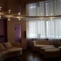 Натяжные потолки в гостиной, фото 5
