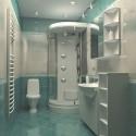 Натяжные потолки в ванной, фото 10