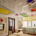 Натяжные потолки в детской, фото 3