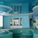 Натяжные потолки для бассейна, фото 3