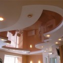 Натяжные потолки на кухне, фото 2