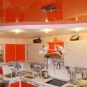 Натяжные потолки на кухне, фото 12
