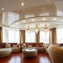Натяжные потолки в гостиной, фото 6