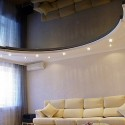 Глянцевые натяжные потолки, фото 8