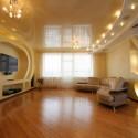 Натяжные потолки в гостиной, фото 9