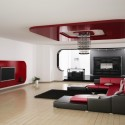 Многоуровневые натяжные потолки, фото 10