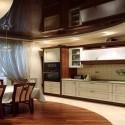 Натяжные потолки на кухне, фото 11