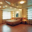 Натяжные потолки в спальне, фото 7