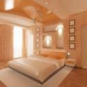 Натяжные потолки в спальне, фото 9