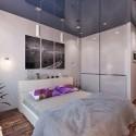 Натяжные потолки в спальне, фото 10